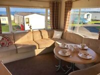 SPECTACULAR STUNNING HOLIDAY HOME FOR SALE ON 12 MONTH SEA VIEW CARAVAN PARK DURHAM COAST