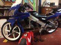 Cbr 125 parts bike