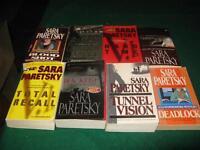 Sara paretsky books $1 each or $5 for the lot