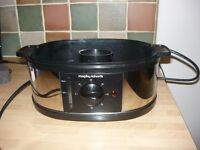 morphy richards steamer