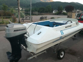 Speed Boat 14ft Mustang
