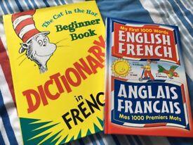 English/French books