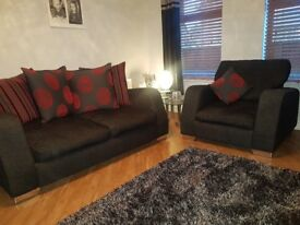 2 seater sofa and armchair !