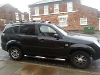 7 seater Rexton 2.7 Merecedes engine with tow bar Open to Offers
