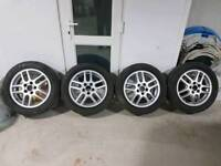 Vauxhall 16 inch alloy wheels and tyres