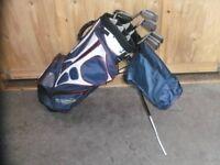 Macgregor Golf Clubs including Petron bag