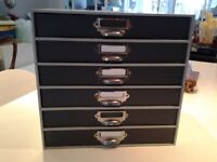 2 x 6 drawer filing cabinets- great condition