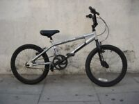 Kids BMX by Terrain, Silver, 20 inch Wheels are Great for Kids 7+, JUST SERVICED / CHEAP PRICE!!!!!!