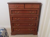 Verona Bedroom 6 Draw chest.