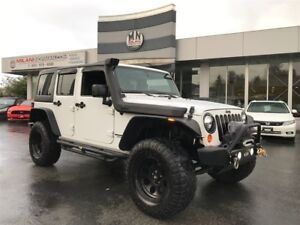 2012 Jeep WRANGLER UNLIMITED Sport 4X4 LIFTED & BUILT! **ONLY 73