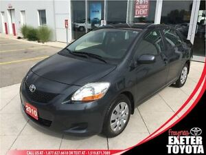 2010 Toyota Yaris 4 Door Sedan
