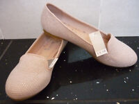 Next - Pink Flat Shoes - Size 4 - BRAND NEW