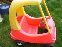 Little tikes car and slide