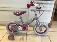 """Girls toddler bike 12"""" wheel"""