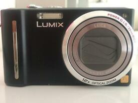 LUMIX camera, charger, memory card
