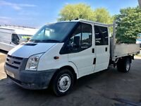 Ford Transit Dropside Double Cab 09 Reg