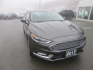 2017 Ford Fusion SE *AWD *Heated Leather *Sunroof *Nav
