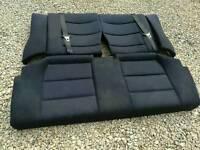 E36 coupe cloth rear seats