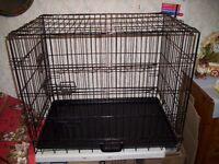 Large Double Door pet Cage