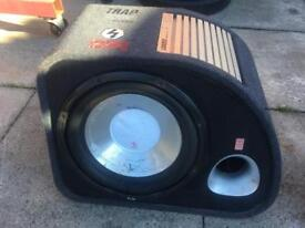 """Fli 12"""" sub and built in amp"""