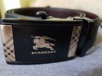 BURBERRY Men's Belt 💥 Premium Quality💥 Unique buckle style