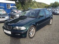 BMW 318i.SE 1.9cc SALOON. LAST OWNER FOR 8 YEARS. PART EXCHANGE BARGAIN.