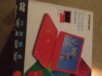 Polaroid portable DVD player 9 inch