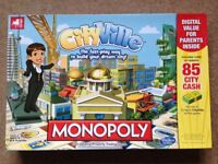 Monopoly Cityville - A faster way to play. Only played once. Complete and in excellent condition.