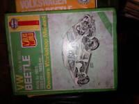 VW Beetle Workshop Manual