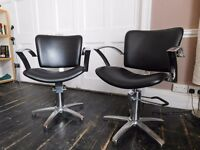 Hairdresser Chairs x 2 - Good Condition