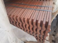 ROOF TILE REDLAND ROSEMARY CLASSIC SMOOTH RED APPROX 1260 NEW
