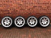 "BBS CH Style Alloy Wheels 18"" 225/40/17"