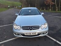 Mercedes clk 220cdi Avantgarde Automatic Turbo Diesel 2.1cc 150bhp 2 door coupe 56/2006 2 former kee