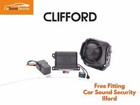 Clifford 330 X1 Cat 1 Car Alarm BMW 1 2 3 4 5 6 7 Series X1 X3 X5 X6 Fully Fitted Essex London Area