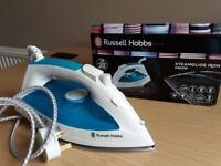 Russell Hobbs Steamglide Iron 21570, 2400 W - White and Blue £30