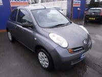 2003 NISSAN MICRA 1.2 AUTOMATIC, NEW SHAPE, 3DOOR, FULL SERVICE, DRIVES VERY NICE, CLEAN CAR