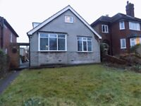 4BEDROOM: DORMER BUNGALOW: 2 BATHROOMS: NEWLY REFURBISHED :OFF STREET PARKING :FRONT AND REAR GARDEN