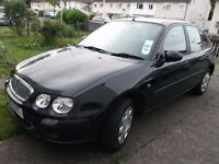 Rover 25 Blue 2001 for quick sale