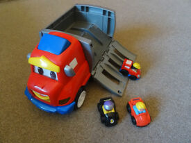 Little People Wheelies Zig the Big Rig & 3 Cars!