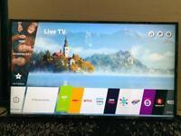 "LG 43UJ634V 43"" 4K HDR Smart WebOS Freeview Freesat HD LED"