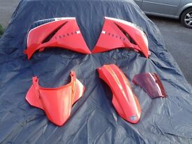 Yamaha XT660R 2013 complete new fairing set in red