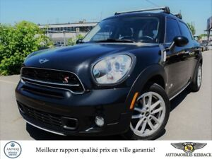 2015 Mini Cooper Countryman S ALL4 CUIR/NAV/TOIT PANORAMIQUE $71