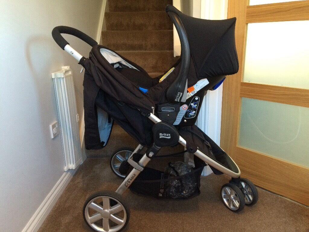 Travel system - Britax B-agile pushchair, Britax Römer Baby-Safe Car ...
