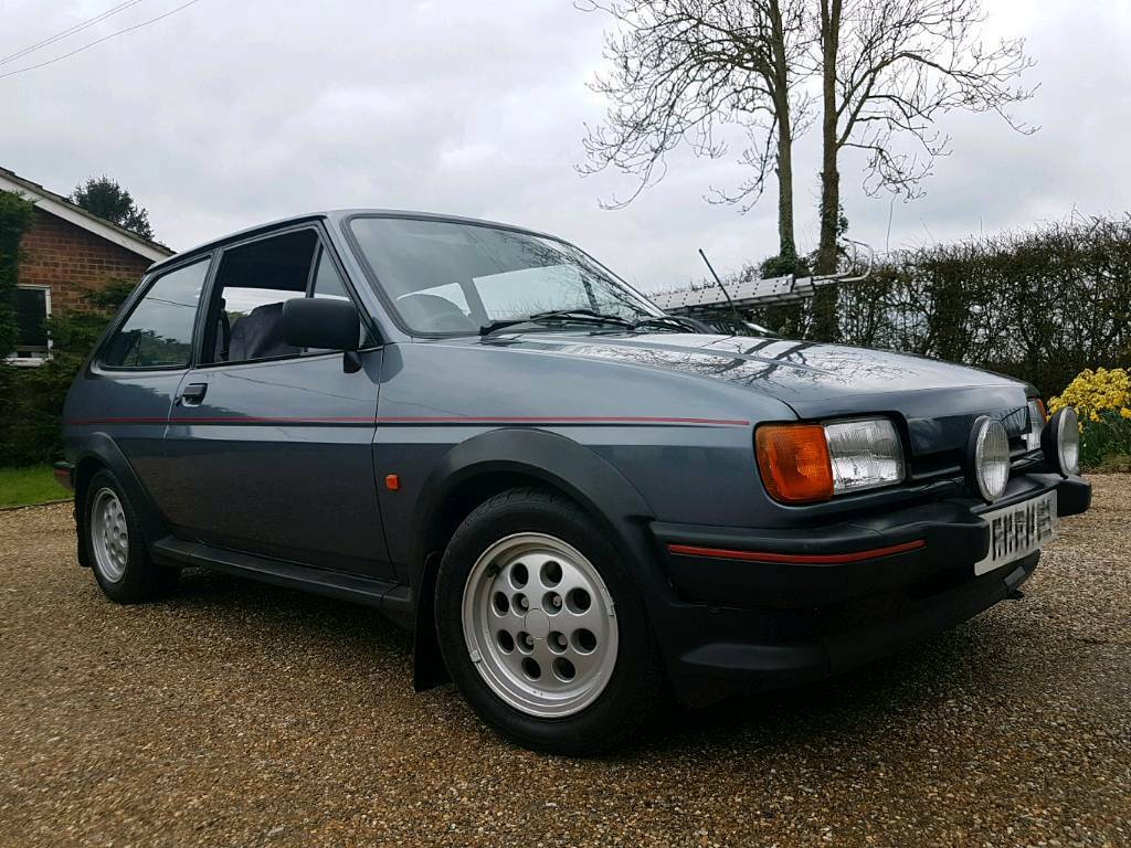 ford fiesta mk2 xr2 grey in harlow essex gumtree. Black Bedroom Furniture Sets. Home Design Ideas