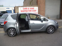 Vauxhall MERIVA Active limited edition CDTI,5 dr hatchback,1 previous owner,2 keys,FSH,stunning car,