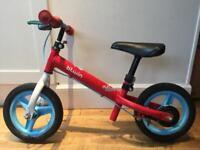 SOLD - Boys & Girls Balance Bike - B'TWIN Run Ride - Kids Bicycle 2-4 years