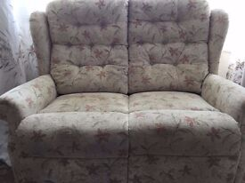 Free to a good home 2 seater sofa slightly worn but really comfy, nothing a throw wouldn't sort.