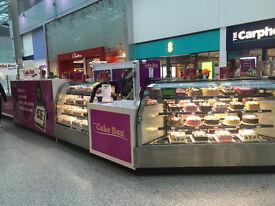 Customer service/ Cake Decorator required at Cake Box IMMEDIATE START