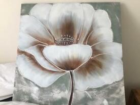 Flower canvas/picture