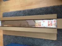Wooden slatted blind. New sealed